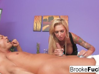 Massage Table Fuck With Brooke