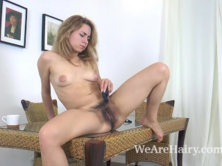 Pass Porn Rabbit Fucking, NarA Abel masturbates On her kitchen table Blonde Masturbation Toys Striptease Russian