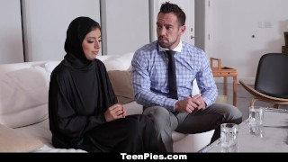TeenPies - Muslim Teen Gets Creampied Sister hd