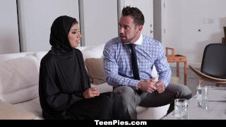 TeenPies - Muslim Teen Gets Creampied Bumsen ass