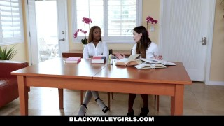 BlackValleyGirls - Hot Ebony Teen Fucks Best Friends Dad