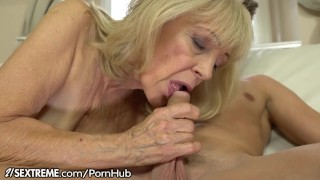 Granny cock rides throbbing horny sextreme studs young old natural