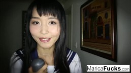 Marica Hase masturbeert hard