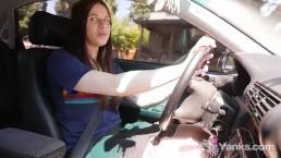 Yanks Matilda Mae Masturbating While Driving
