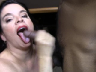 Free Italian Sex Trailer latina takes BBC cum