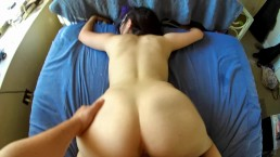Hot masked girl sucks and fuck to get facialized!