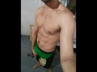 Pre-cam workout sesh