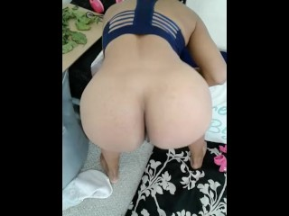 A little ass shaking to start the day