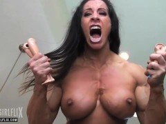 Massive She Hulk Muscle Girl Rage Transformation