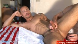 Stan, handsome innocent delivery guy in a gay porn.