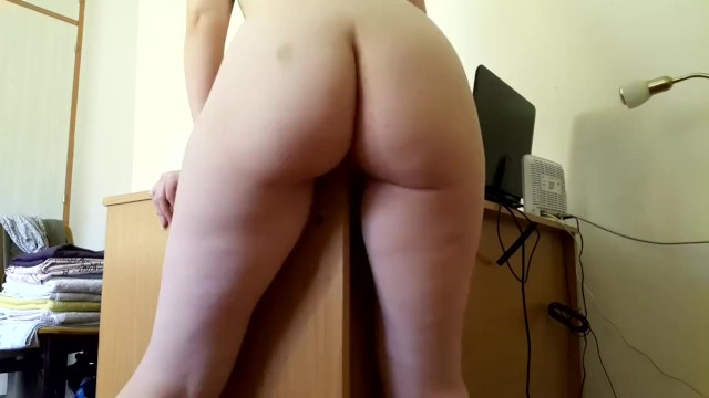 Guys rubbing ass against girls pussy Little redhead rubs against a desk and cums hard