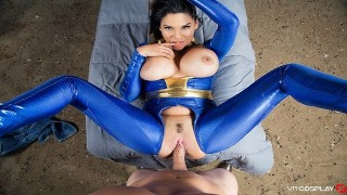 VRCosplayX.com Busty Latina Missy Martinez Fucks You In Fallout XXX Parody