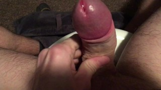 Watch the cum drip from my cock Girls bigass