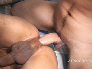 Rimming my latino ass.
