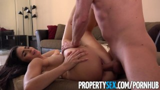 Propertysex fucks tenant over landlord evasive young landlord