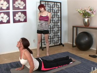 Milf Trainer Fucked Me Hard After The Yoga Lesson
