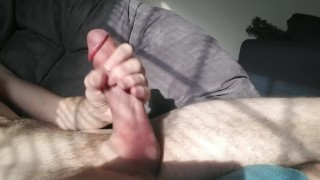Edging A Slow Stroke With LOTS of Cum Old mature