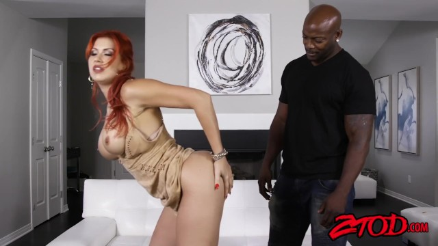 Busty Ginger Milf Savana Styles Drilled And Facialized By -7288