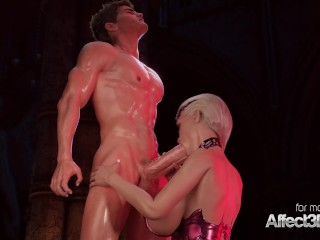 Vampire Porn Tube — Blonde big tits vampire anal s at Sex Strike