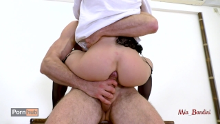 Ass bandini fucking student seduces teacher her hot mouth her to mia anal anal
