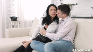 X-Sensual - Jessica Lincoln - She is hungry Big fishnet