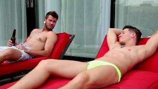 포르노를 트리플 엑스 - Next Door Raw - Dalton Riley Barebacks와 그의 자매 Str8 남자 친구