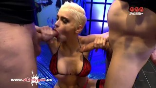 Busty Tattooed Babe Mila Milan first Monster Cock German Goo Girls