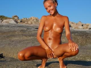 Corsica Explicit Nudist Katya Clover