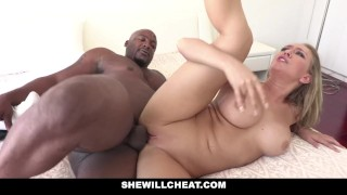 SHEWILLCHEAT - Horny Real Estate Agent Fucks BBC