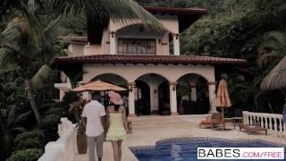 Black is Better - Secret Getaway starring Julia Roca and Stallion