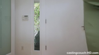 Latina fucks her first black guy during a casting Young big
