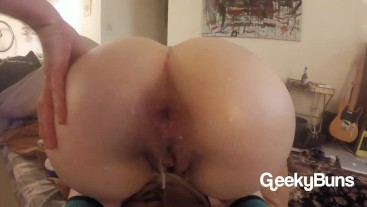 YOUNG PAWG MESSY ANAL CREAMPIE
