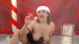 Smoking Christmas Eve Fun - ALHANA WINTER - Bonus New XMAS Video