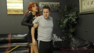 Neighborhood Bully Savana Makes Him Her Foot Worship And Ass Licking Bitch French fast