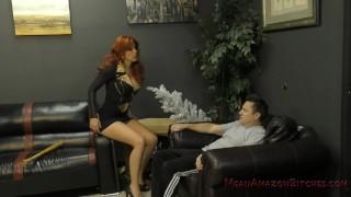 Neighborhood Bully Savana Makes Him Her Foot Worship And Ass Licking Bitch
