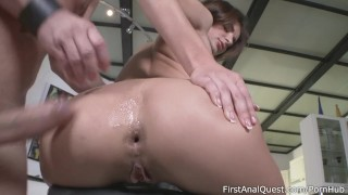 Kate Rich is getting her rocks off from assfucking – FirstAnalQuest.com