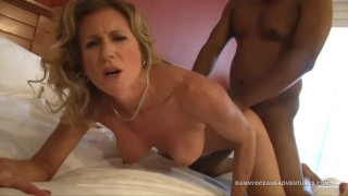 DOCEAN - Milf Whore Jade Jamison Black Bull Breeding Session Blacked rough