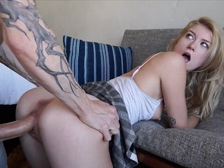 Justhavingfunwithlif familystrokes - stepsister fucks stepbrother next to blind dad familyst
