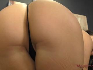 Mistress Mena Mason Makes You Worship Her Femdom POV Ass Worship