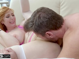 BANG Gonzo - Redhead PAWG Lauren Philips Anal Fuck