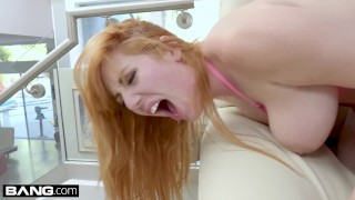 BANG Gonzo - Redhead PAWG Lauren Philips Anal Fuck