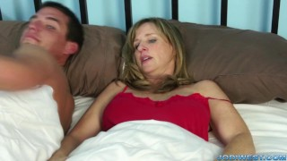 Night for west one with just jodi blonde milf