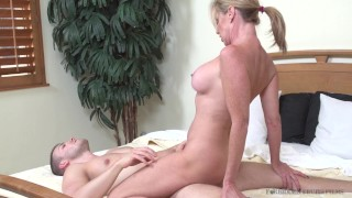 Aunts in my pants starring Jodi West 3some ffm
