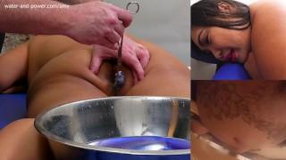 Amy Gets Purged and Plugged  kink big boobs enema