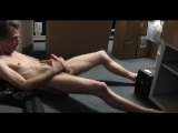 My straight bud pulls his cock out while filming. I cum.