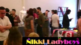 NikkiLadyboys at the TEA show with T-girls