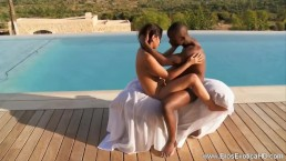 African Sunset Lovemaking With Passion