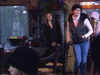 Snow Bunnies - Big Booty Blonde Wife CARMEN LUVANA Rides Huge Cock At Winte