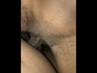 Thot getting fucked in car