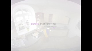 VirtualRealTrans.com - Before Thanksgiving Tattooed butt